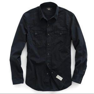 🌵Ralph Lauren RRL Slim Cotton Western Shirt 🌵
